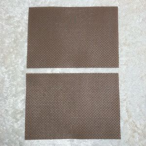 8PC CROSS WEAVE DINING PLACEMATS
